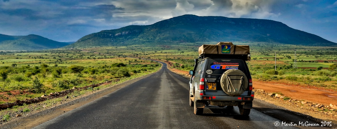 New road in Ethiopia