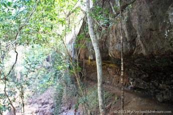Bang Lung - Dried up waterfall