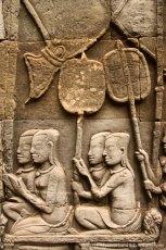 Intricate Carvings at Bayon