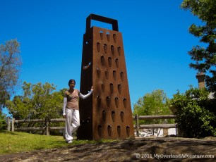 The Giant Cheese Grater Hunter Valley