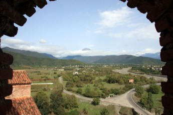 View  from Gremi Citadel