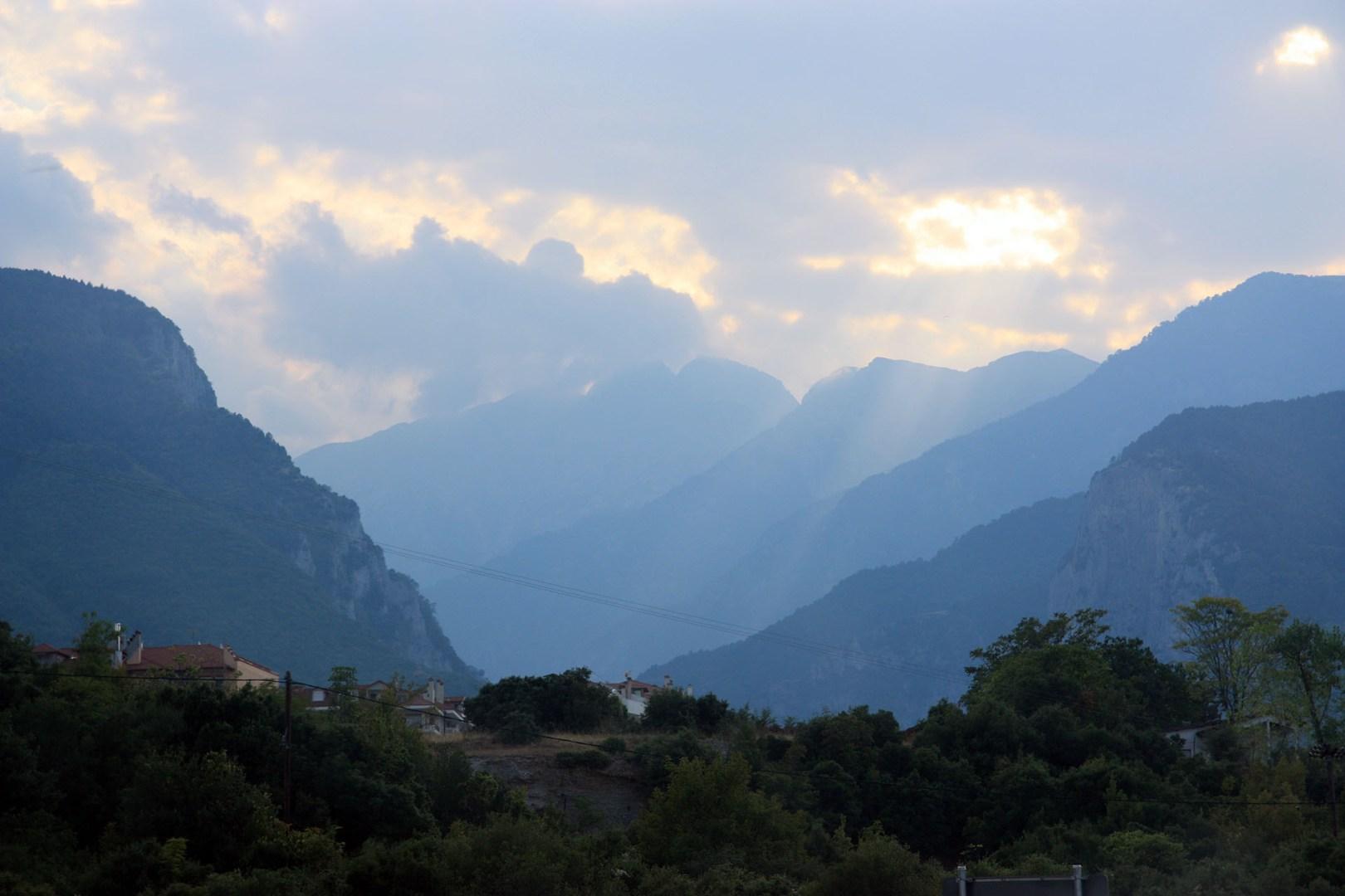 Peaks of Mount Olympus
