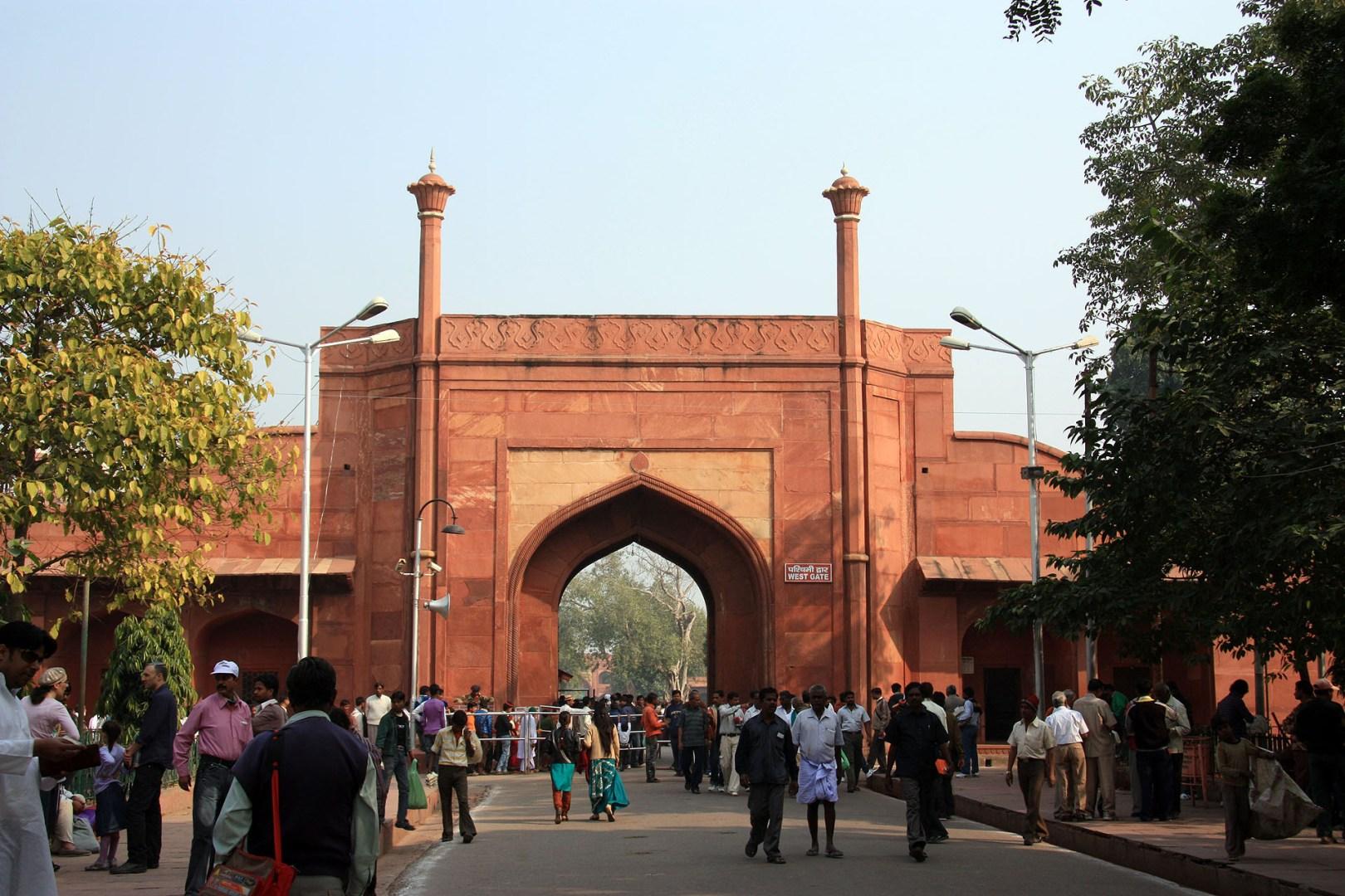 Taj Mahal - West Gate
