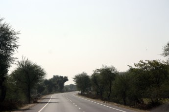 Clear road to Udaipur