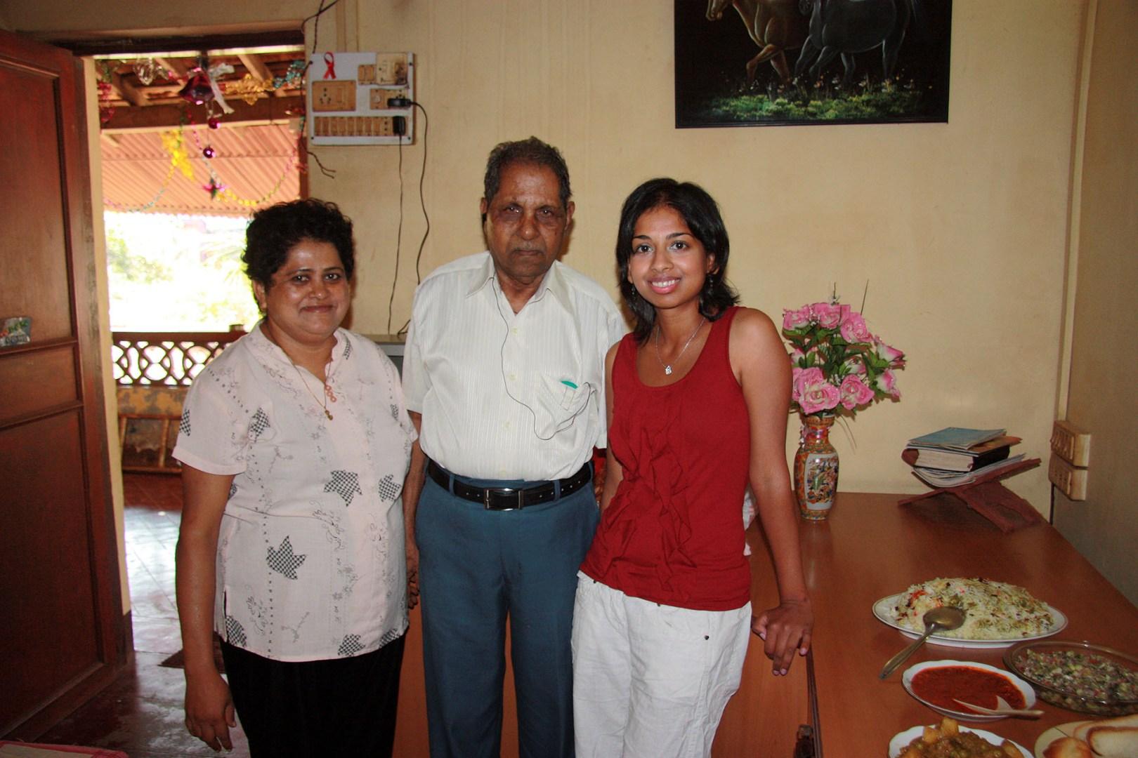 Denise, Her Dad & Nicole