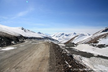 Road over the pass