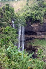 Tat Katamtok Waterfall in the distance