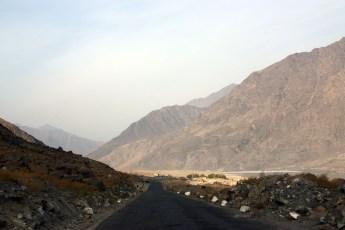 Good road towards Chilas