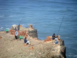 Fishermen On Cliffs - Azenhas do Mar