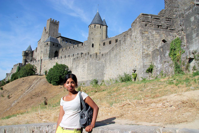 Carcassonne Old City Walls