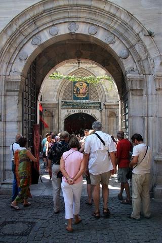 Entrance-Grand bazaar