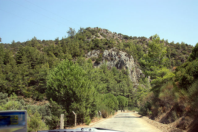 On the road-Bodrum to Fethiye