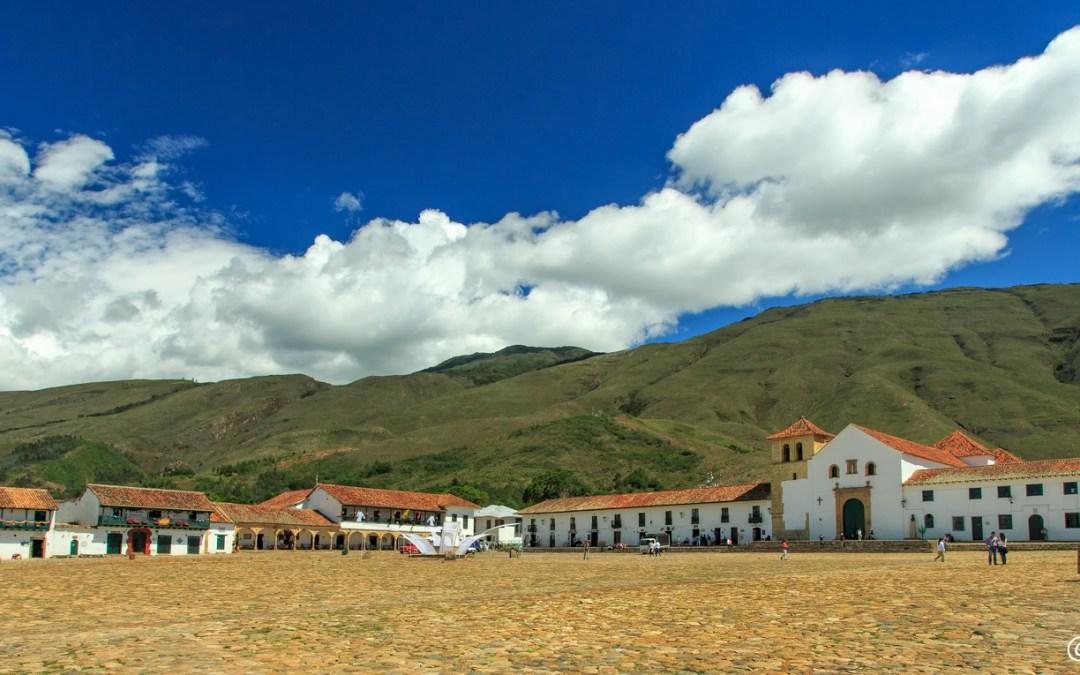 Villa de Leyva, Colonial Colombia