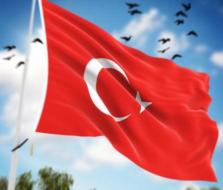 Turkey Flag ,