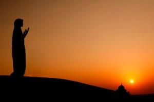 muslim, woman, desert