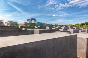 The Holocaust Memorial, Berlin, Germany
