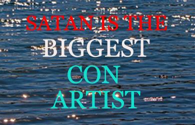 Con Artist Satan -402943396405