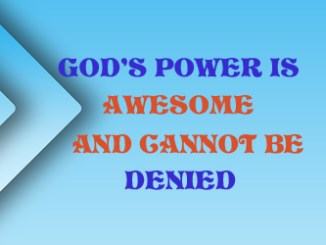 God Power 134051719207
