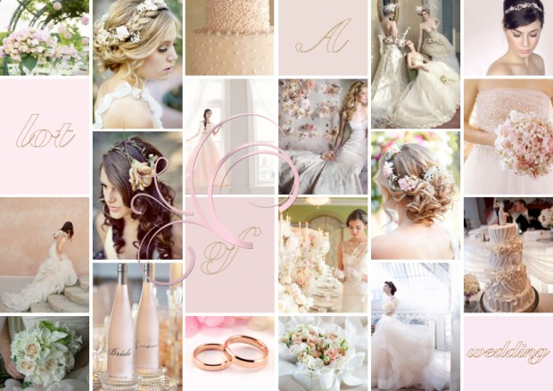 "Mood board · Bryllup: ""A Lot of Wedding"""