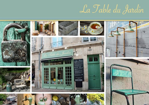 "Mood board – Udendørs: ""La Table du Jardin"""