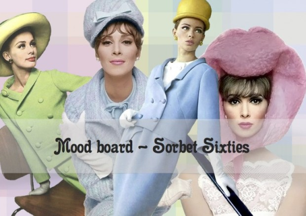 "Mood board – Mode: ""Sorbet Sixties"""