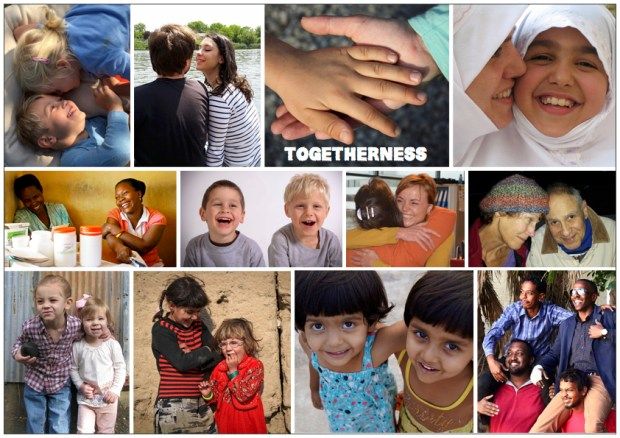 "Mood board – Diverse: ""Togetherness"""