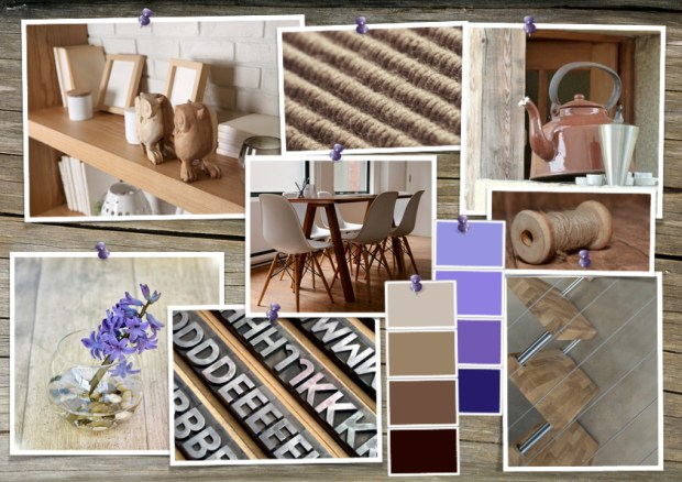 "Mood board – Bolig: ""Wood on Wood"""