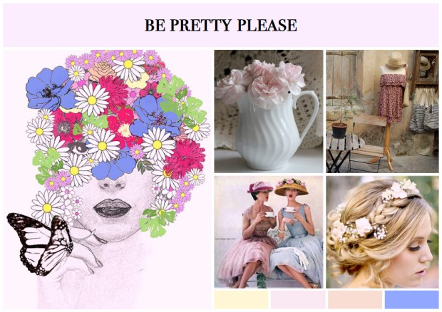 "Mood board – Mode: ""Be Pretty Please"""