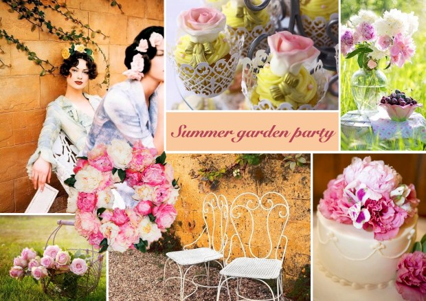 "Mood board – Udendørs: ""Summer Garden Party"""