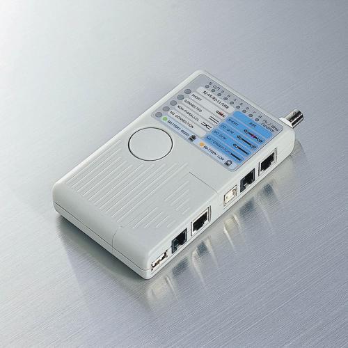 ネットワークのお仕事道具-その3~LANケーブルチェッカーは必須アイテム