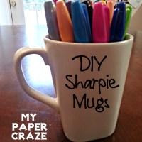 {DIY} Sharpie Mugs!