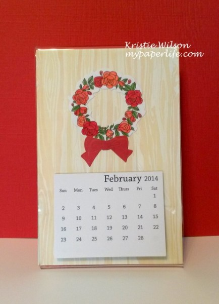 Feb Calendar_Dawn TE Rose Wreath