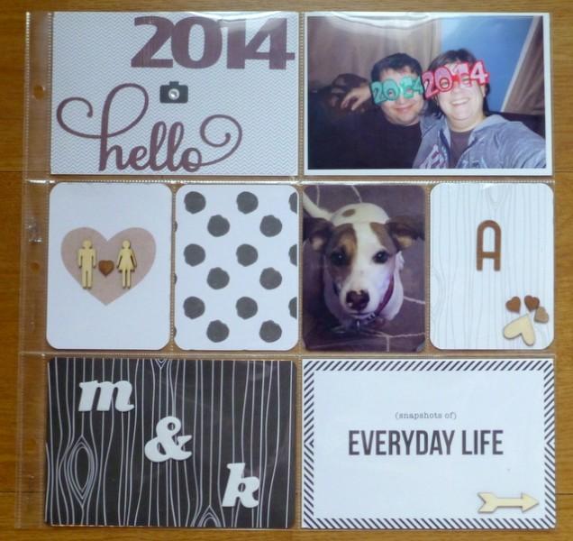 2014 Album Cover page