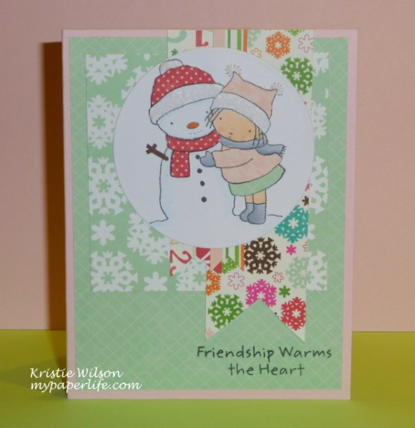 Card 10 - Merry Kissmas