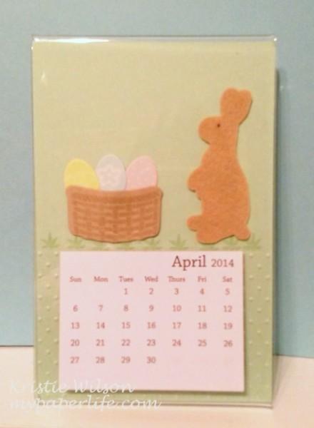 April Calendar 1