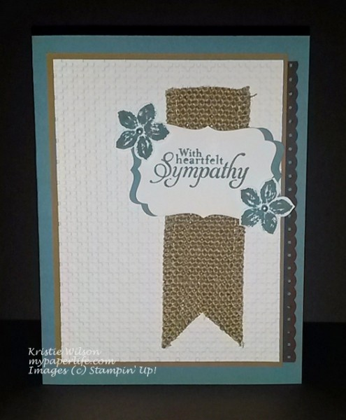 Card 22-June 2014 Simply Sketched Sympathy