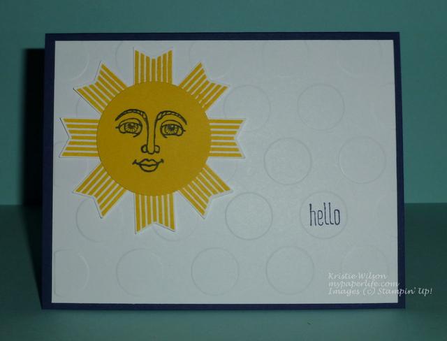 2014 Card 103 - SU Ray of Sunshine Hello