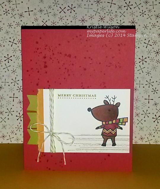 2014 Card 118 - SU Color Me Christmas