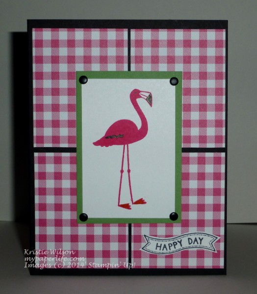 2014 Card 123 - SU Flamingo Lingo