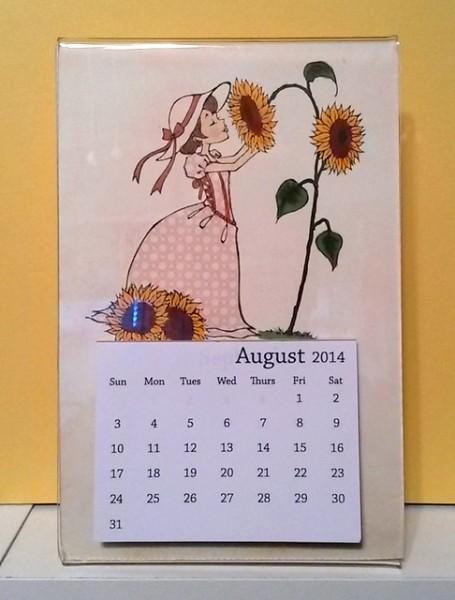 August Calendar 2
