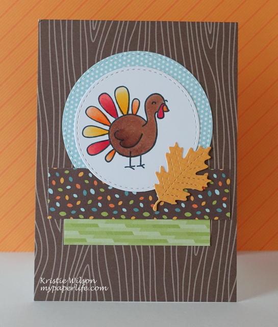 2014 Card 150 - Lawn Fawn Turkey DAy