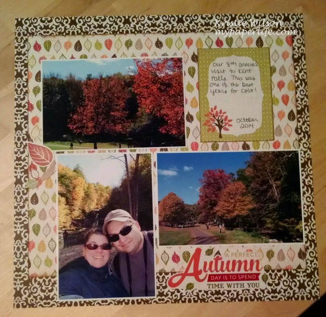 2015 Page 1 - A Perfect Autumn Day