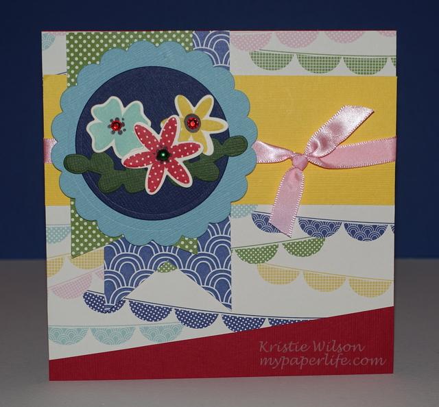 2015 Card 29 - Reverse Confetti Petals n Posies