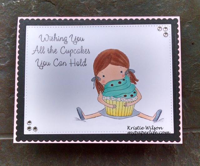 2015 Card 45 - MFT Jolinne Cupcakes