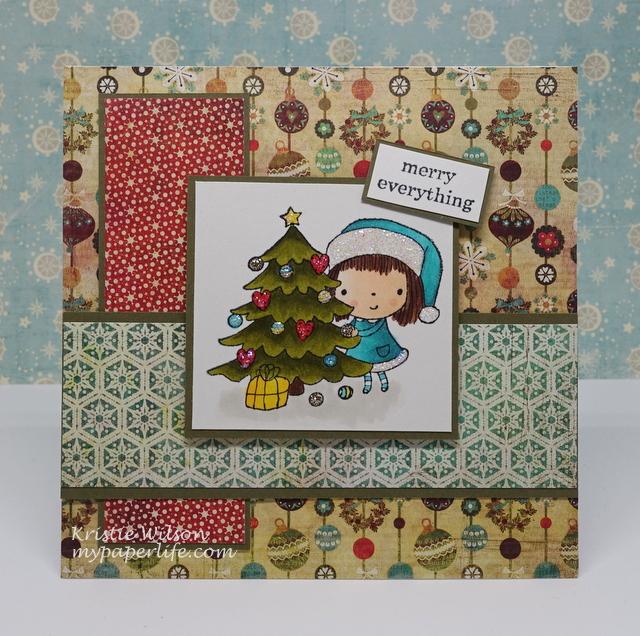 2015 Card 69 - Penny Black Mimis Christmas