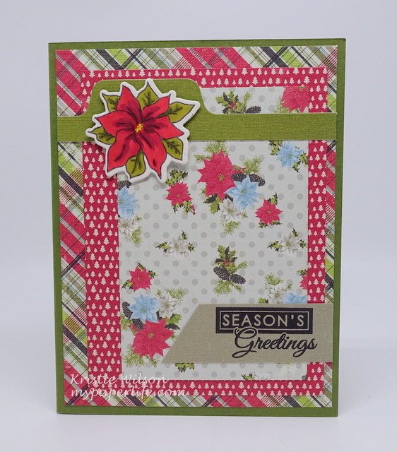 2015 Card 74 - Verve Pinecone Christmas