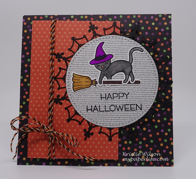 2015 Card 100 - Lawn Fawn Critters in Costume