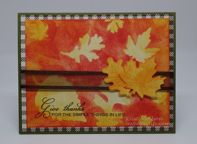 2015 Card 102 - Gina K The Simple Things