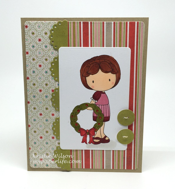 2015 Card 121 - CC Designs Christmas Emma