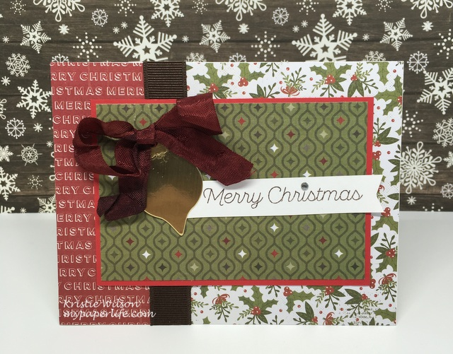 2015 Card 134 - LLD Trim the Tree and Christmas Ornaments